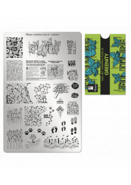 Plaque Stamping N° 81 Greenity