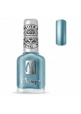 Vernis Stamping chrome Blue