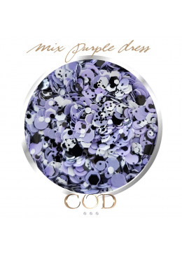 Mix Purple Dress