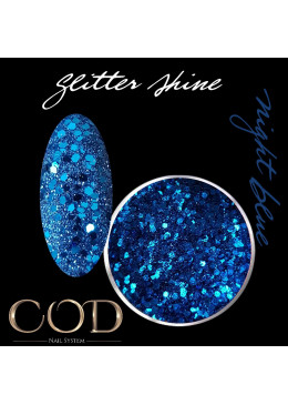 Glitter Shine Night Blue