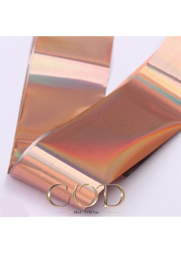 Foil rose Gold Holographique