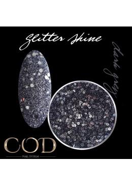 Glitter Shine Dark Grey