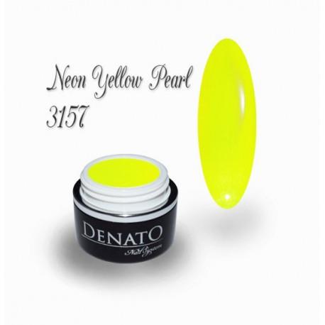 Gel couleur Neon Yellow Pearl