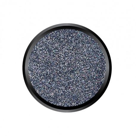 Blown Glitter Light Black