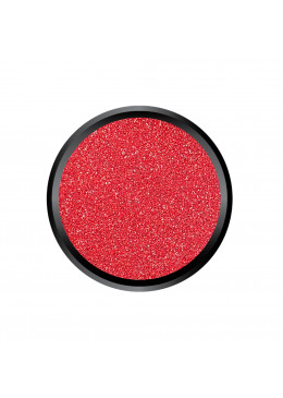 Blown Glitter Satin Red