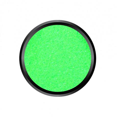 Blown Glitter Néon Green