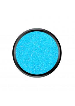 Blown Glitter Soft Blue