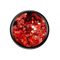 Mix Satin Red