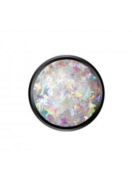 Star White Glitter