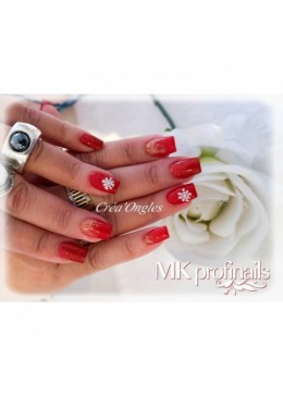 Gel Couleur Red Glitter