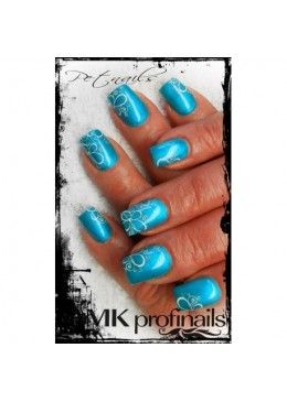 Gel Couleur Pearl Turquoise