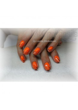 Gel Couleur Neon Mandarin