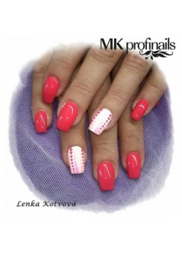 Gel Couleur Coral Rosa