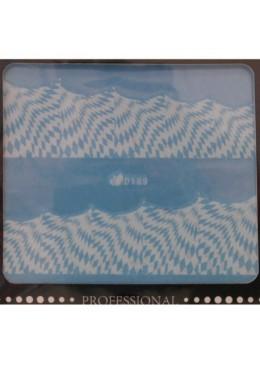 Water decal Géométrique blanche